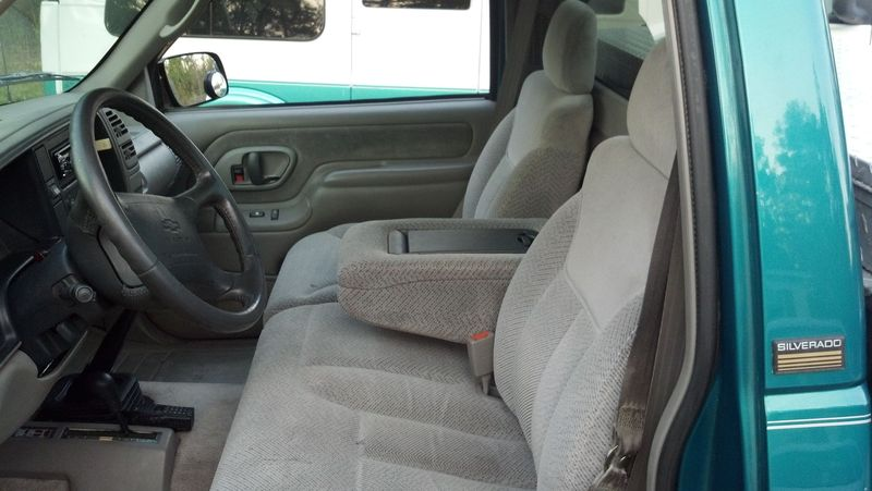 Seat upgrade!!! DONE!   Chevy Truck Forum   GM Truck Club